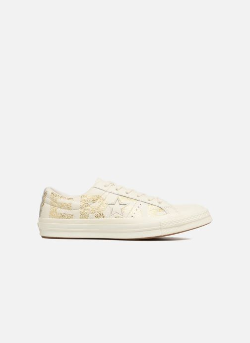 Trainers Converse One Star Converse Wordmark Ox White back view