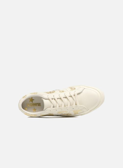 Trainers Converse One Star Converse Wordmark Ox White view from the left