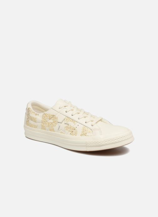 Trainers Converse One Star Converse Wordmark Ox White detailed view/ Pair view