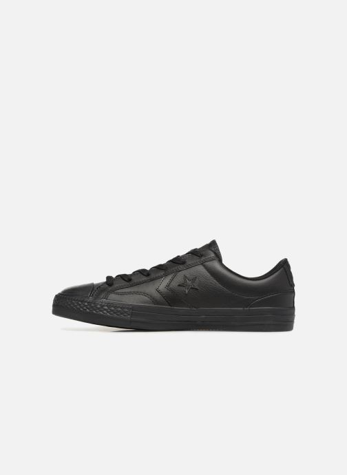 Sneakers Converse Star Player Leather Essentials Ox Zwart voorkant
