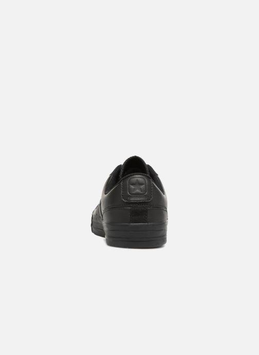 Sneakers Converse Star Player Leather Essentials Ox Nero immagine destra
