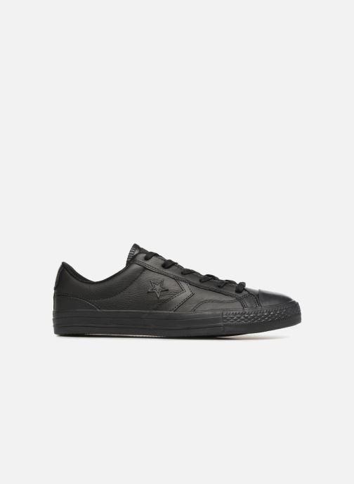 Sneakers Converse Star Player Leather Essentials Ox Zwart achterkant