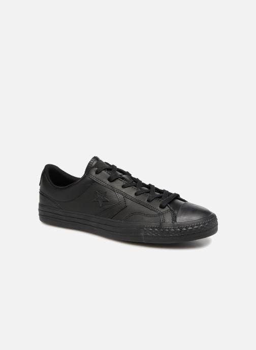 Sneakers Converse Star Player Leather Essentials Ox Zwart detail