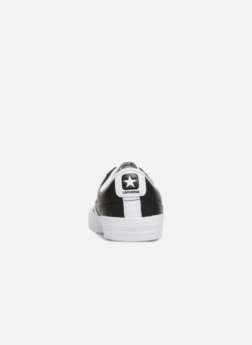 Sneaker Converse Star Player Leather Essentials Ox schwarz ansicht von rechts