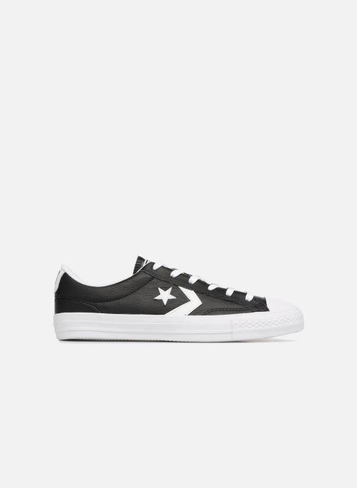 Sneaker Converse Star Player Leather Essentials Ox schwarz ansicht von hinten