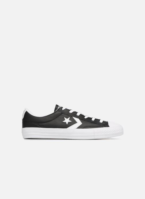 Trainers Converse Star Player Leather Essentials Ox Black back view