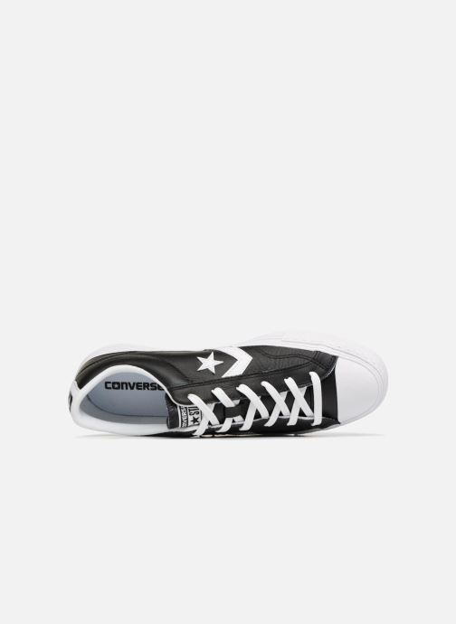 Trainers Converse Star Player Leather Essentials Ox Black view from the left