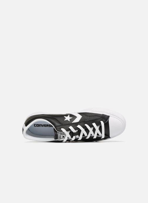Sneaker Converse Star Player Leather Essentials Ox schwarz ansicht von links