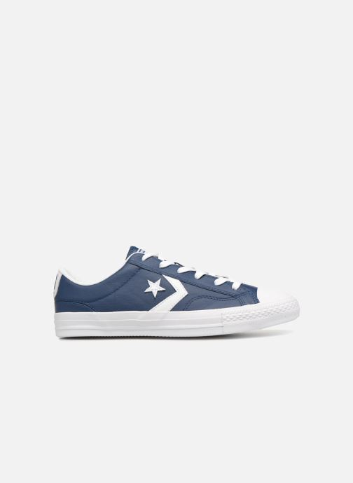 Sneakers Converse Star Player Leather Essentials Ox Blauw achterkant