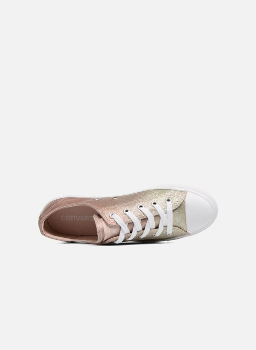 3d3466291870b8 Trainers Converse Chuck Taylor All Star Dainty Ombre Metallic Ox Grey view  from the left