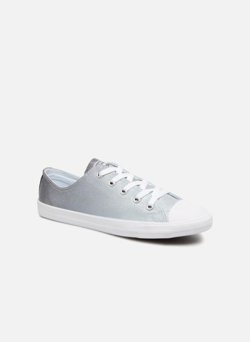 Trainers Converse Chuck Taylor All Star Dainty Ombre Metallic Ox Grey  detailed view  Pair view b10eb0549
