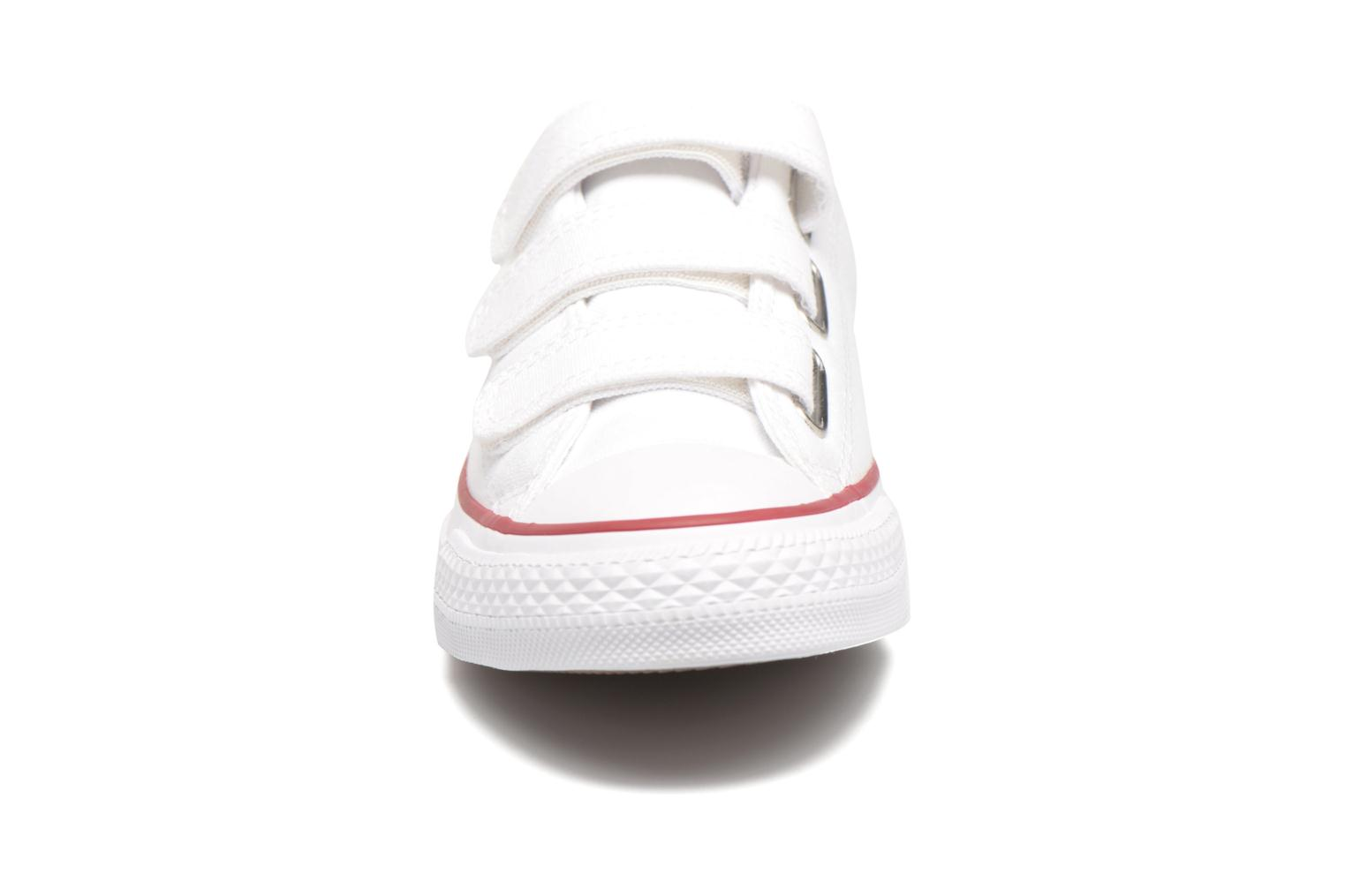 Baskets Converse Chuck Taylor All Star 3V Canvas Ox Blanc vue portées chaussures