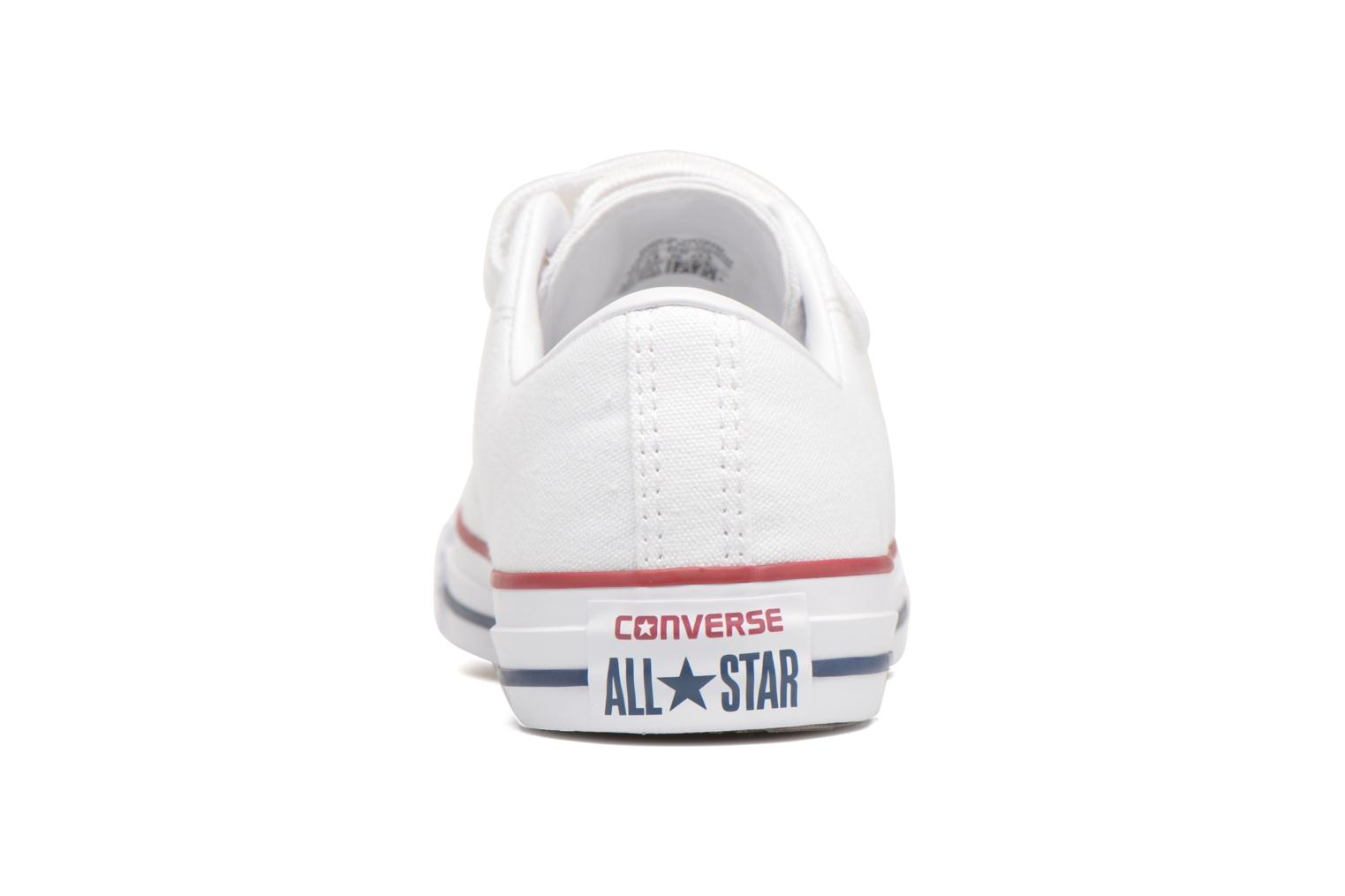 Baskets Converse Chuck Taylor All Star 3V Canvas Ox Blanc vue haut