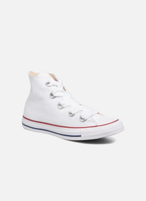 Converse Chuck Taylor All Star Big Eyelets Canvas Hi Weiss