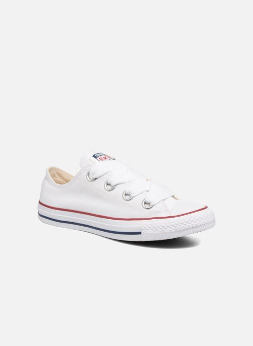 1700e8aded8 Converse Chuck Taylor All Star Big Eyelets Ox (Wit) - Sneakers chez ...