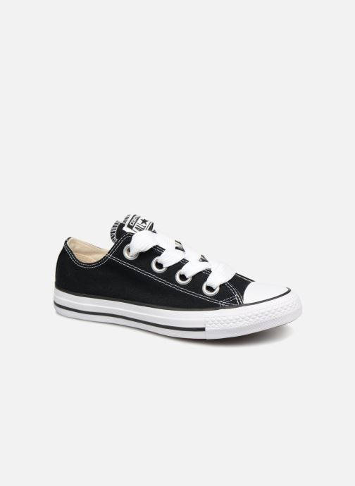 190f9105c26cf Baskets Converse Chuck Taylor All Star Big Eyelets Ox Noir vue détail paire