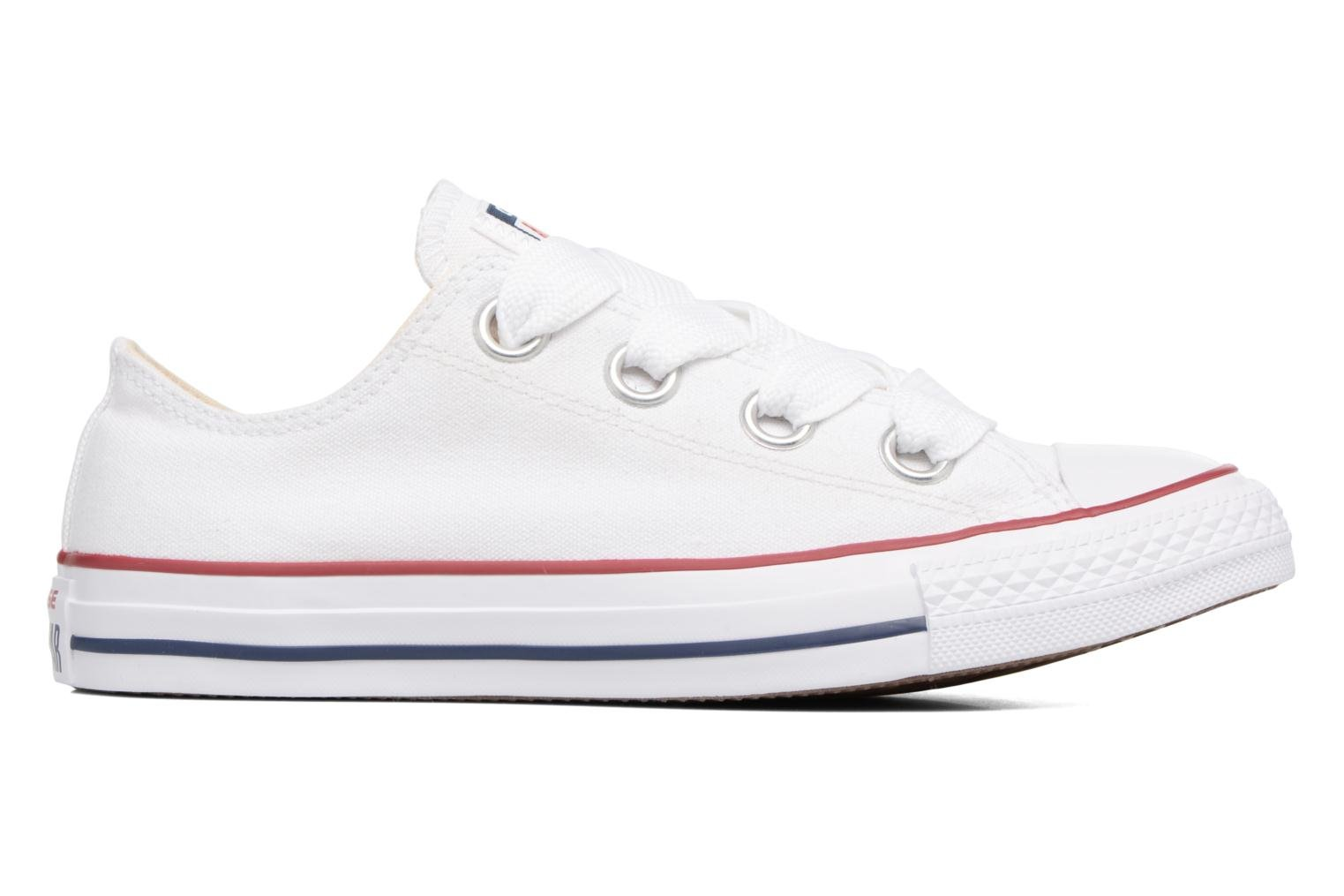 Baskets Converse Chuck Taylor All Star Big Eyelets Ox Blanc vue derrière