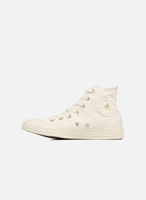 Baskets Converse Chuck Taylor All Star Mono Glam Canvas Color Hi W Blanc vue face