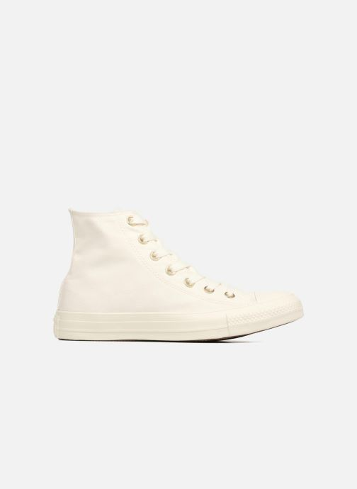 Trainers Converse Chuck Taylor All Star Mono Glam Canvas Color Hi W White back view