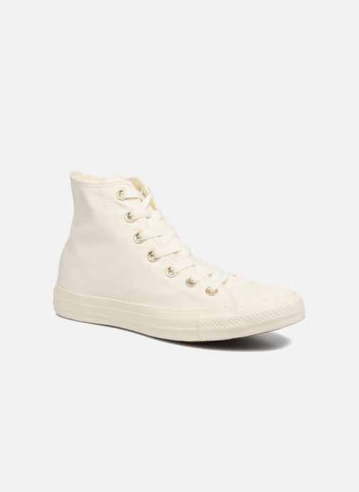 Baskets Converse Chuck Taylor All Star Mono Glam Canvas Color Hi W Blanc vue détail/paire