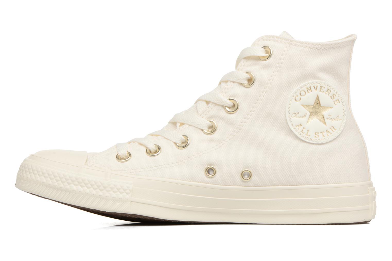 Baskets Converse Chuck Taylor All Star Mono Glam Canvas Color Hi W Blanc vue face