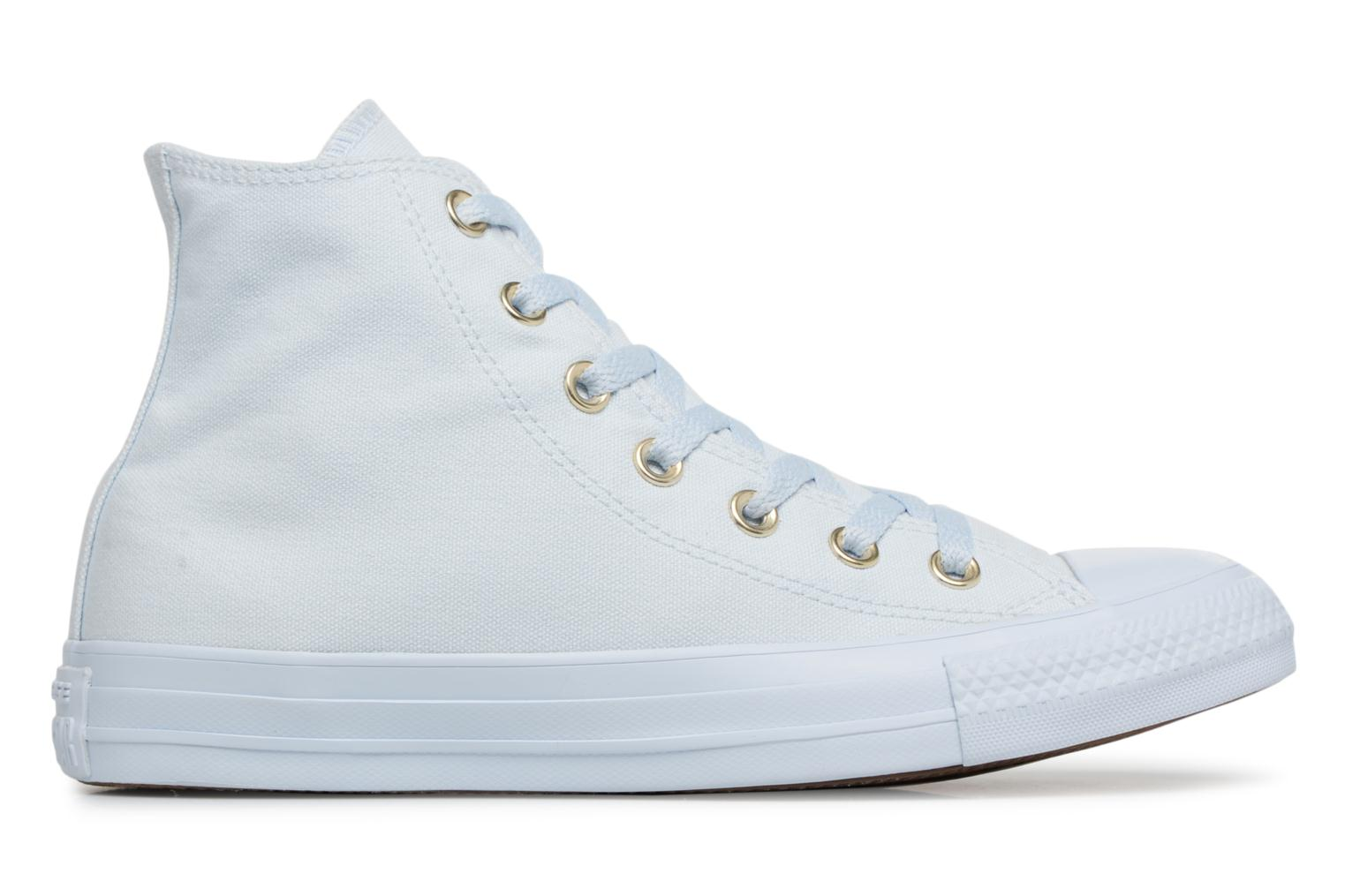 Baskets Converse Chuck Taylor All Star Mono Glam Canvas Color Hi W Bleu vue derrière