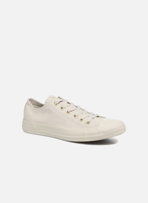 Baskets Converse Chuck Taylor All Star Mono Glam Canvas Color Ox W Vert vue détail/paire