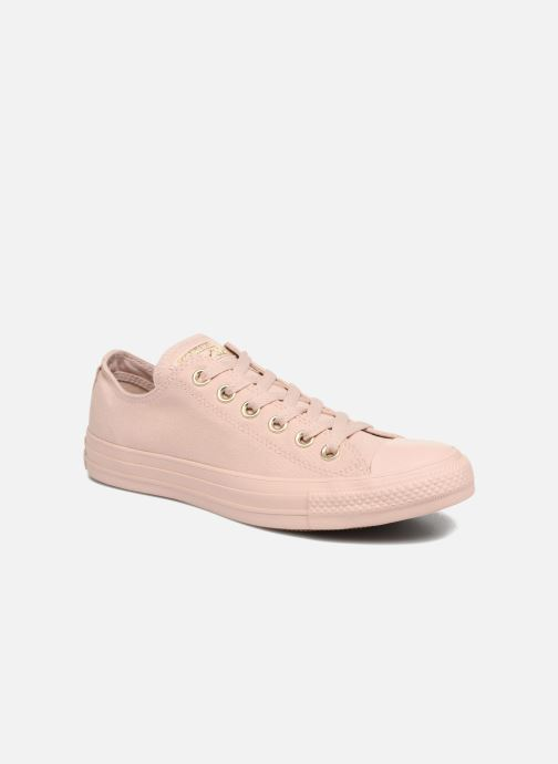 53d65b0d Trainers Converse Chuck Taylor All Star Mono Glam Canvas Color Ox W Pink  detailed view/