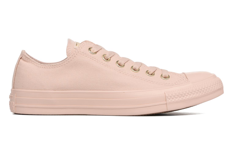 Sneakers Converse Chuck Taylor All Star Mono Glam Canvas Color Ox W Rosa immagine posteriore