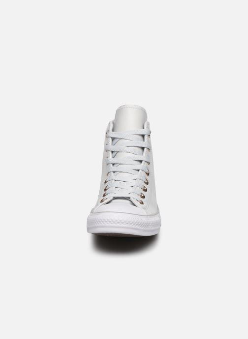 Sneakers Converse Chuck Taylor All Star Craft SL Hi Bianco modello indossato