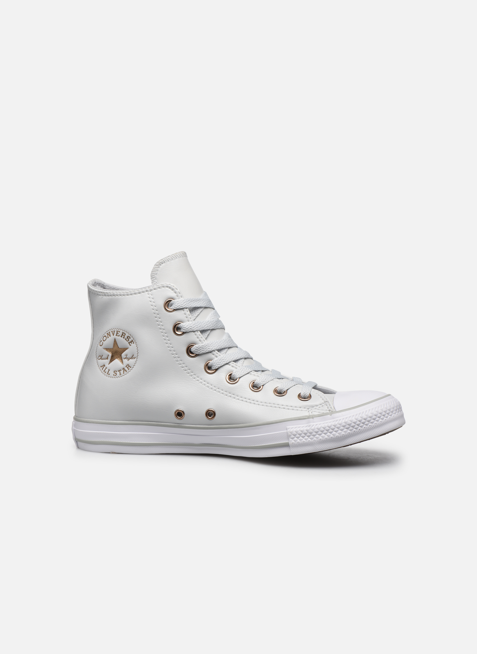 Baskets Converse Chuck Taylor All Star Craft SL Hi Blanc vue derrière