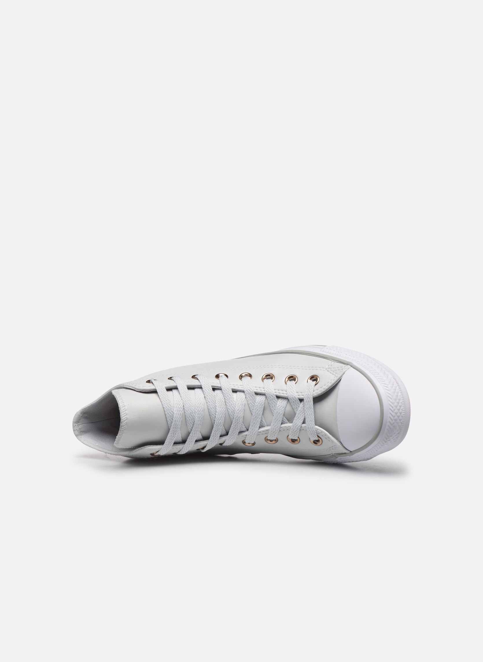 Baskets Converse Chuck Taylor All Star Craft SL Hi Blanc vue gauche
