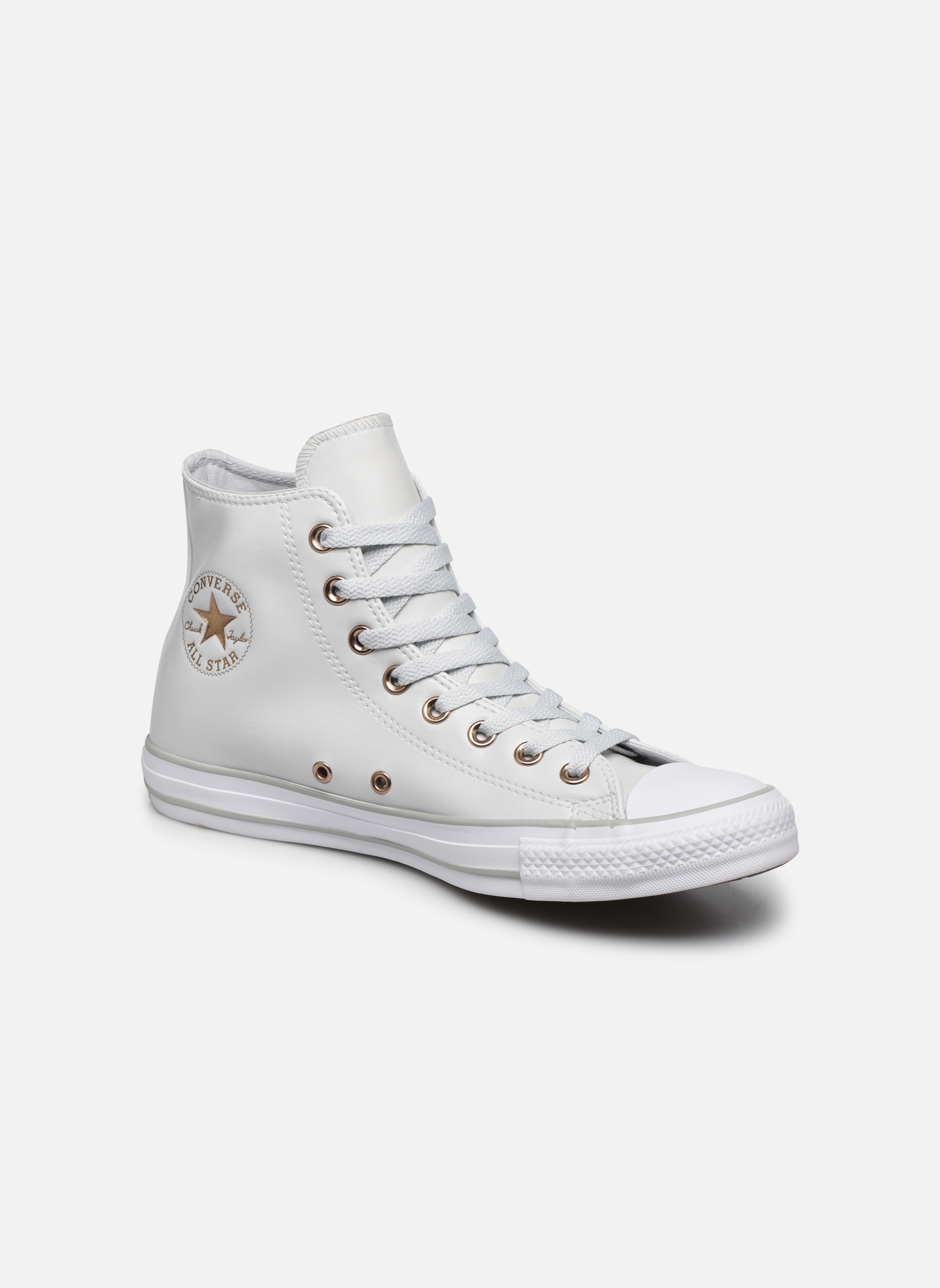 Baskets Converse Chuck Taylor All Star Craft SL Hi Blanc vue détail/paire