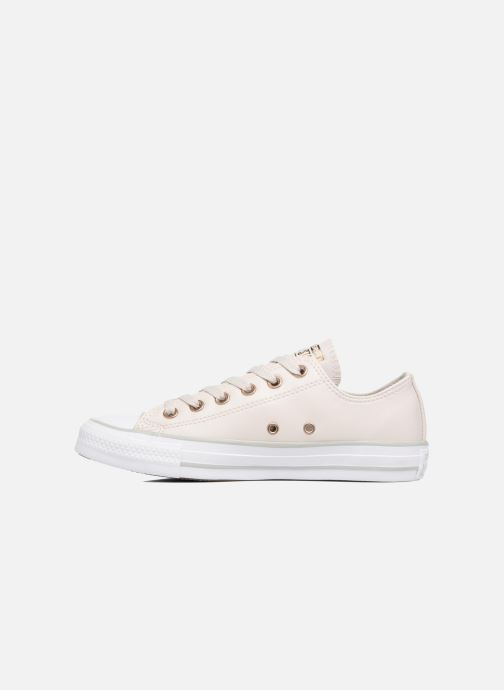 Deportivas Converse Chuck Taylor All Star Craft SL Ox Beige vista de frente