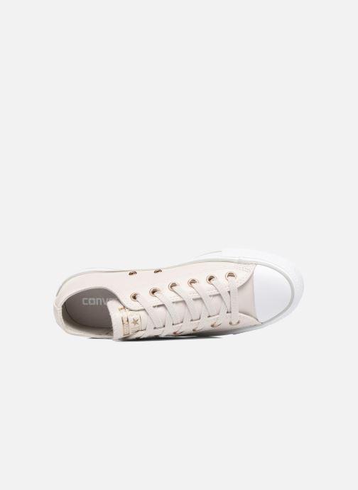 Sneaker Converse Chuck Taylor All Star Craft SL Ox beige ansicht von links