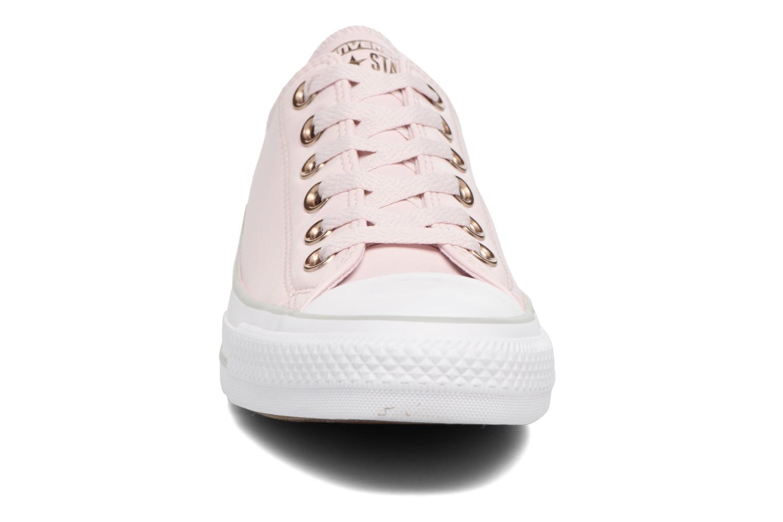 Baskets Converse Chuck Taylor All Star Craft SL Ox Rose vue portées chaussures