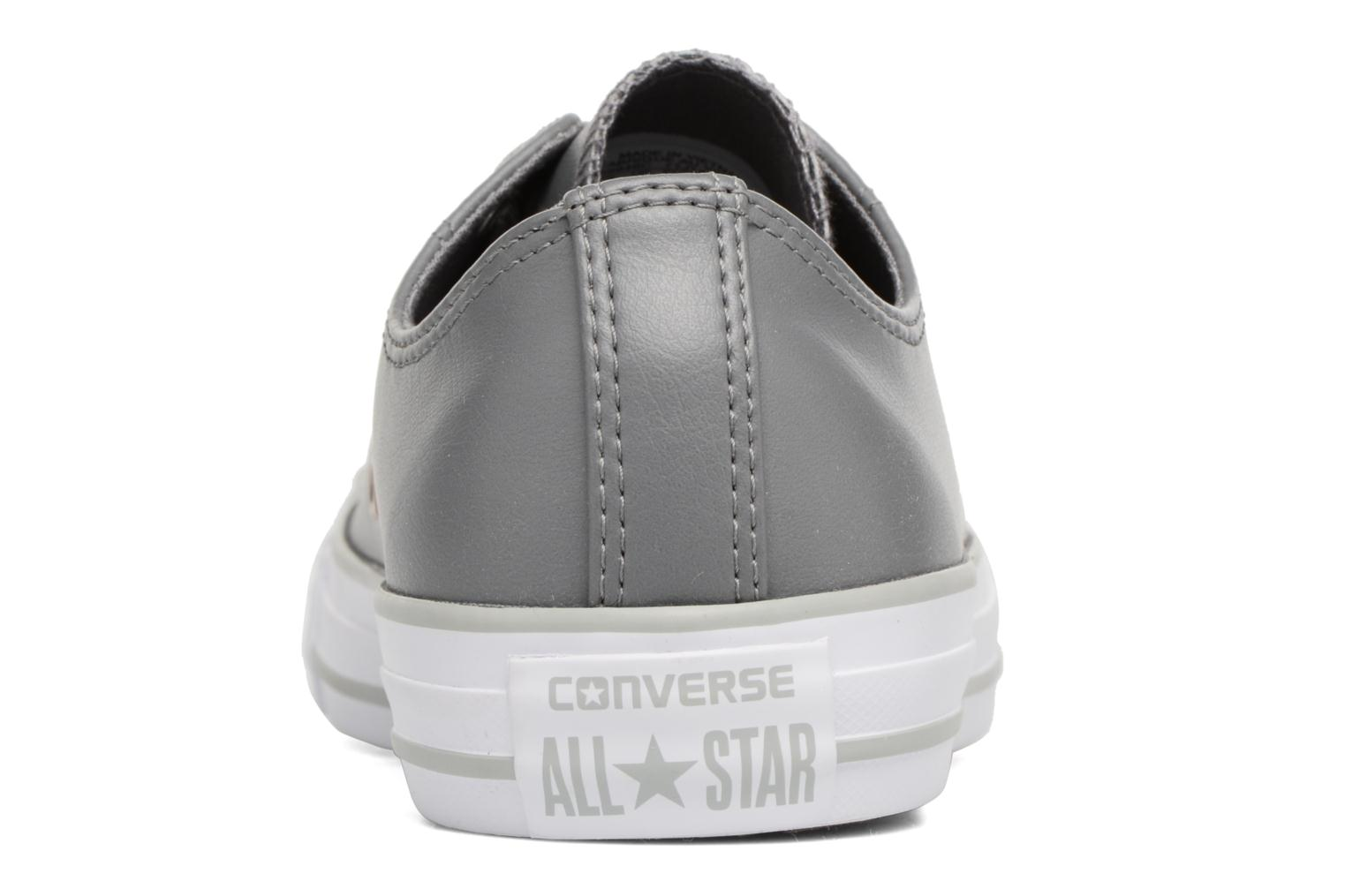 Baskets Converse Chuck Taylor All Star Craft SL Ox Gris vue droite