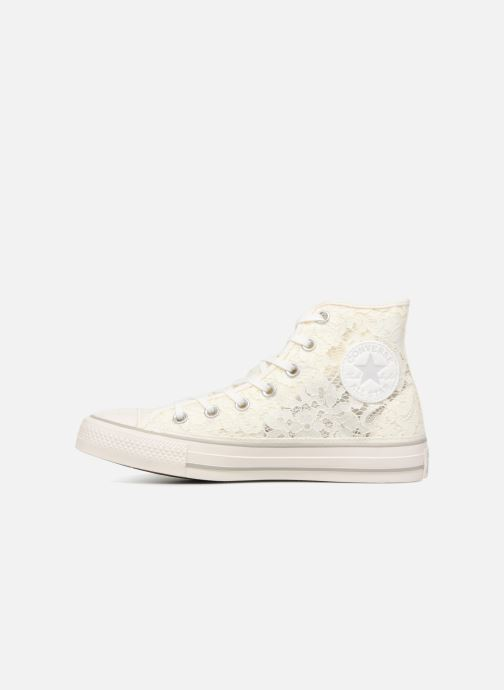 042f40a0c8b5 Trainers Converse Chuck Taylor All Star Flower Lace Hi White front view