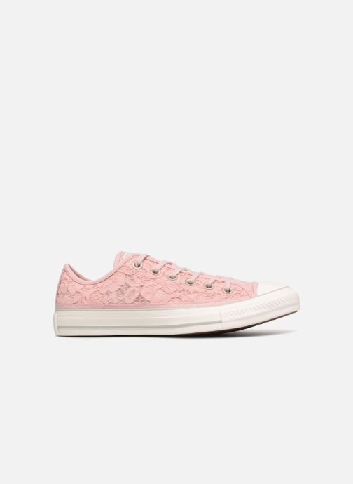 Trainers Converse Chuck Taylor All Star Flower Lace Ox Pink back view