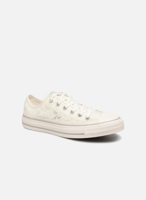bcc6e2c1ba9f45 Converse Chuck Taylor All Star Flower Lace Ox (Wit) - Sneakers chez ...