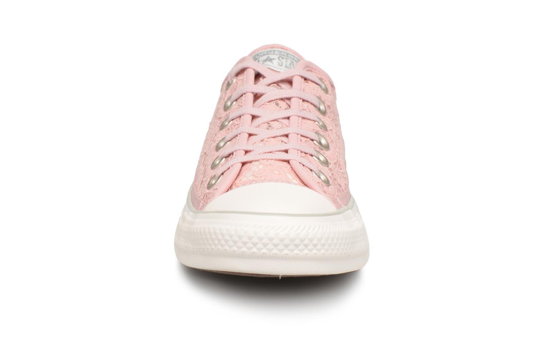 Los populares zapatos más populares Los para hombres y mujeres  Converse Chuck Taylor All Star Flower Lace Ox (Rosa) - Deportivas en Más cómodo 9eed59