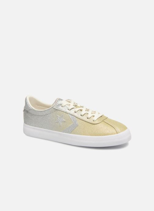 Trainers Converse Breakpoint Ombre Metallic Ox Bronze and Gold detailed view/ Pair view