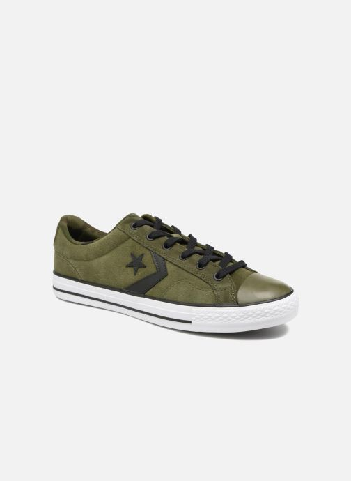 d9c5bb683adead Converse Star Player Camo Suede Ox (Green) - Trainers chez Sarenza ...