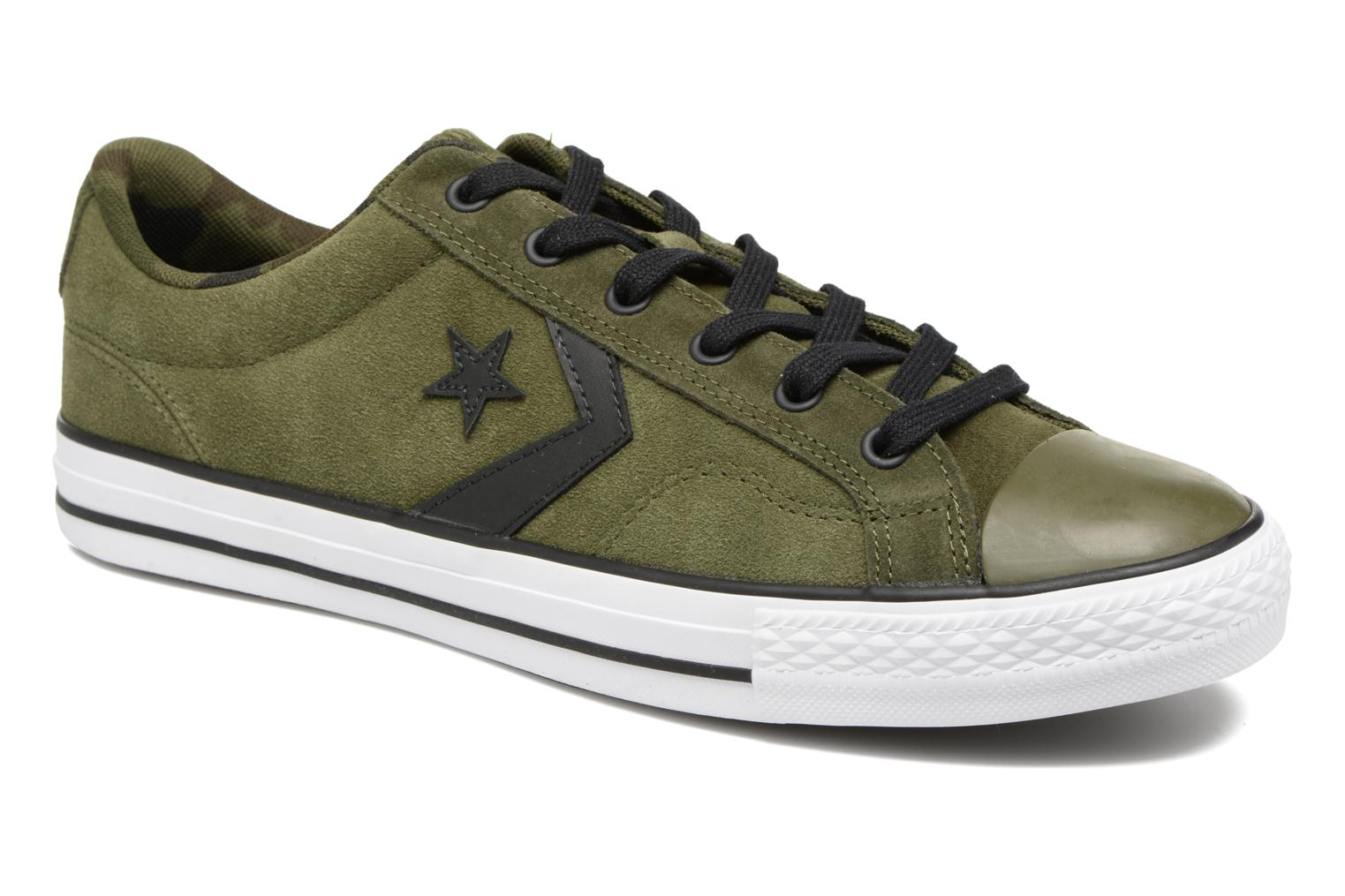 5fb14e46b1 ... inexpensive trainers converse star player camo suede ox green detailed  view pair view 67bd0 bc659 ...