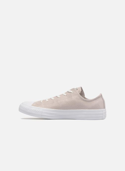 Trainers Converse Chuck Taylor All Star Tipped Metallic Ox Grey front view