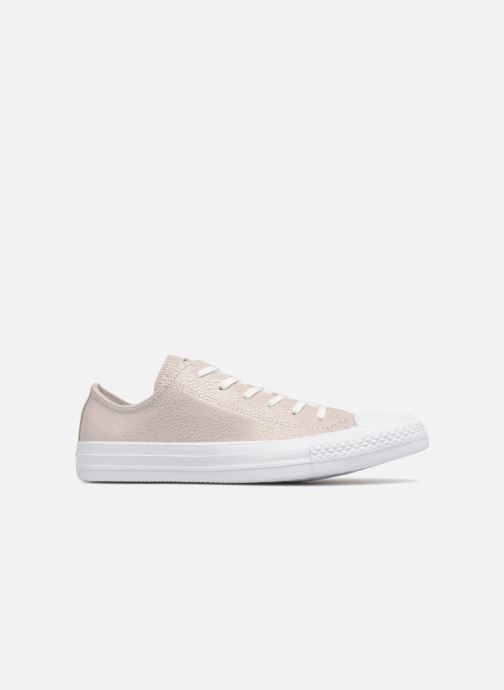 Trainers Converse Chuck Taylor All Star Tipped Metallic Ox Grey back view