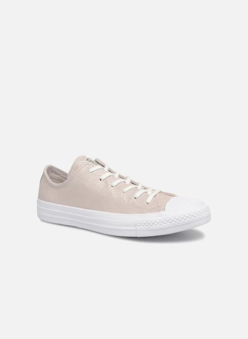 Trainers Converse Chuck Taylor All Star Tipped Metallic Ox Grey detailed view/ Pair view