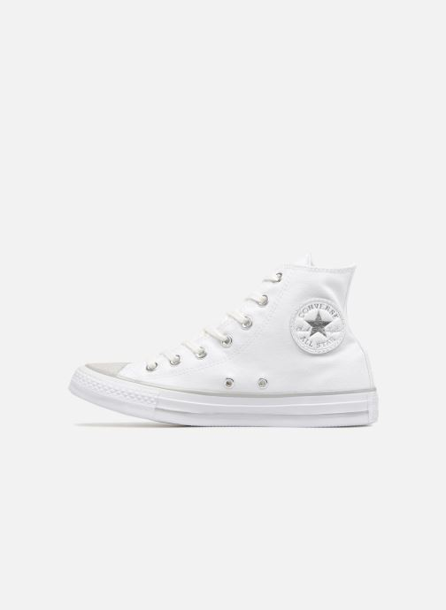Chuck Taylor Converse silver Metallic Star Hi All Toecap white Tipped White 80PnOwkX
