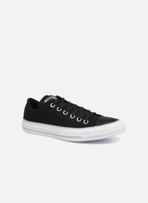 d1809ad30691d4 Trainers Converse Chuck Taylor All Star Tipped Metallic Toecap Ox Black  detailed view  Pair view