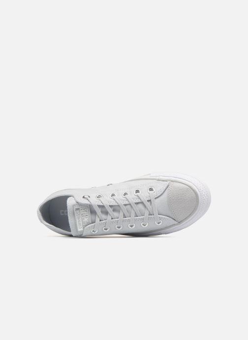 2124b43848b Sneakers Converse Chuck Taylor All Star Tipped Metallic Toecap Ox Grijs  links